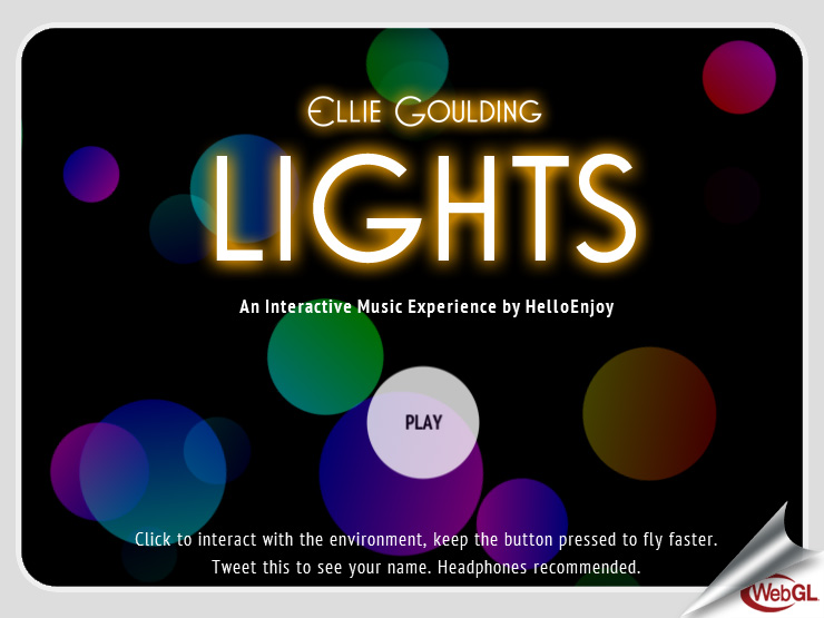 Lights, by Ellie Goulding (2011)