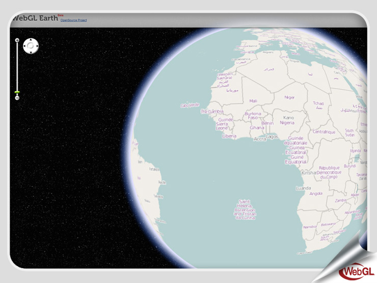 WebGL Earth