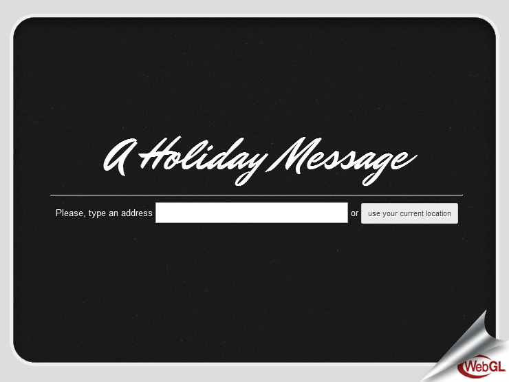 A holiday message, by @thespite & @mrdoob