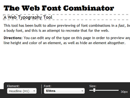 The Font Combinator