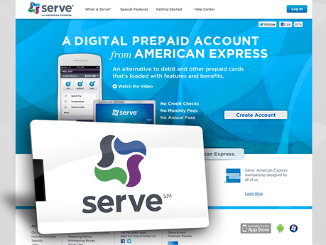 Serve, from American Express