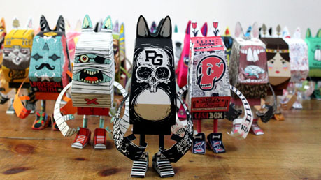 Paper Toy Show, by Phidias Gold