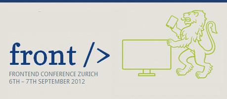 Frontend Conference Zurich 2012