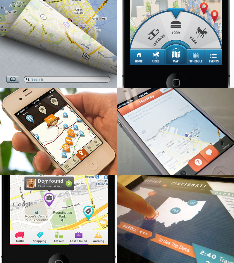 Site Map Design Examples: Creative UI Design Examples For Great UX