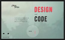 Nick Jones / Design + Code