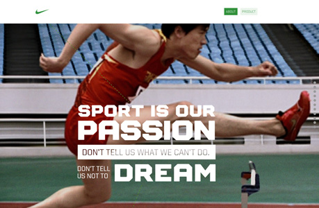 60 Inspirational Sports Related Websites