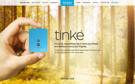 TINKE: Wellness at your fingertips