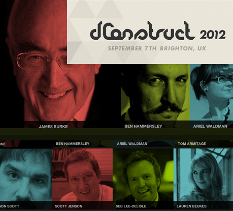 dConstruct 2012: Playing with the Future