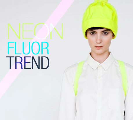 Could Neon / Fluor be a new trend in webdesign?