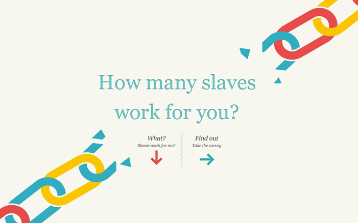 Made in a Free World: Slavery Footprint