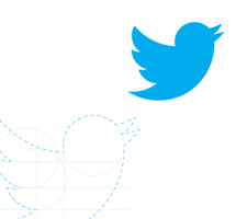 Reconstruct the Twitter Icon Using Circle Shapes