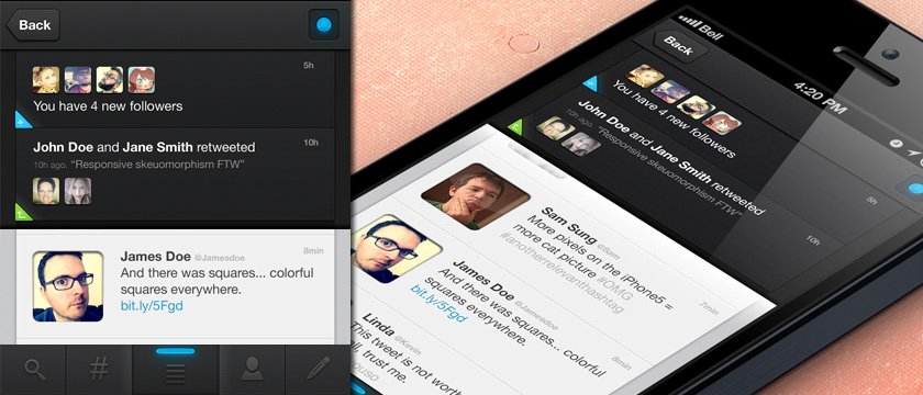 Awesome Twitter App UI