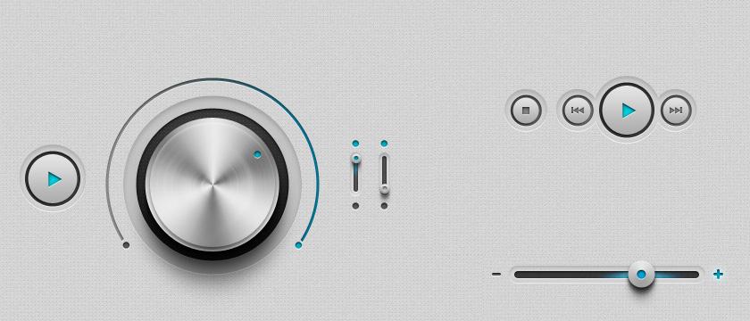 iPhone and Ipad App UI Kit Psd Vol1