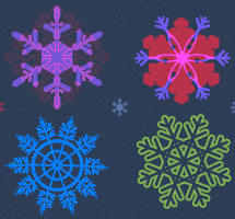 Christmas-themed Graphic Resources and Christmas Card Freebies
