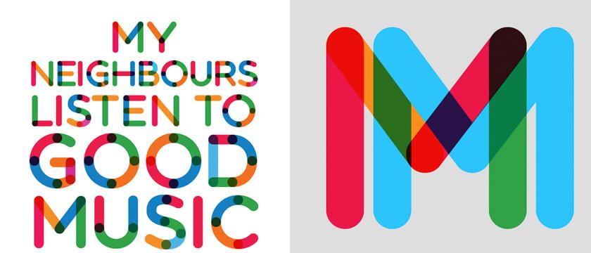 Multicolore Sans Serif Free Font