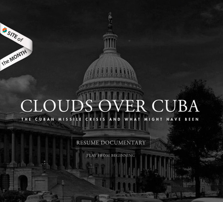 Site of the Month November 2012: Clouds Over Cuba