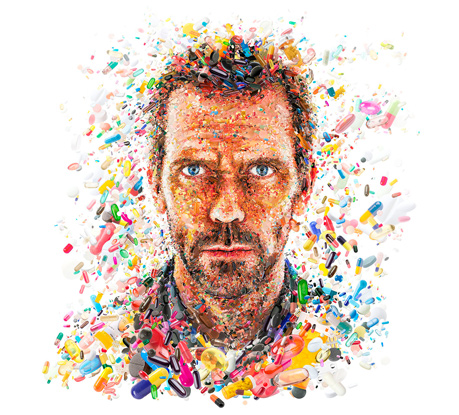 The Mesmerizing Digital Artwork and Complex Mosaic Portraits of Charis Tsevis