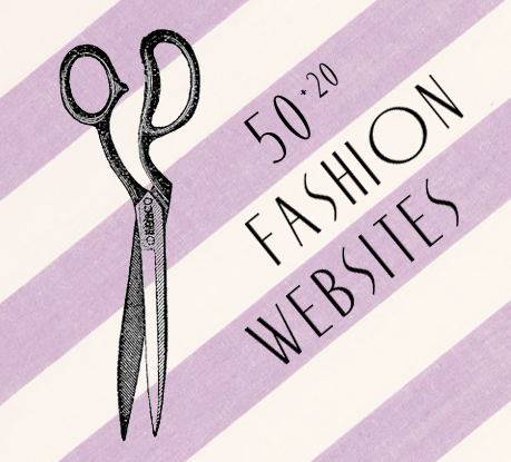 50 Fashion Websites (+20 New Sites)