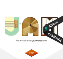Site of the Month December 2012: Jam with Chrome