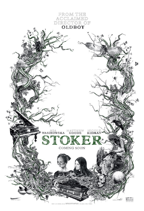 Design for Nicole Kidman's new movie, Stoker