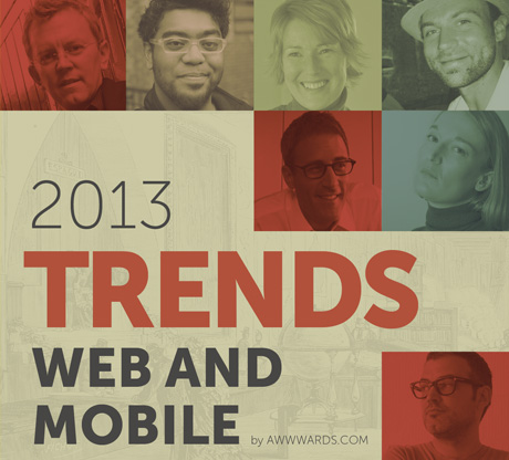 Web Design and Mobile Trends for 2013 eBook: download it for free!