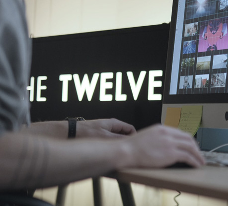 Creative Studio The Twelve's Website is Site of the Month for January 2013