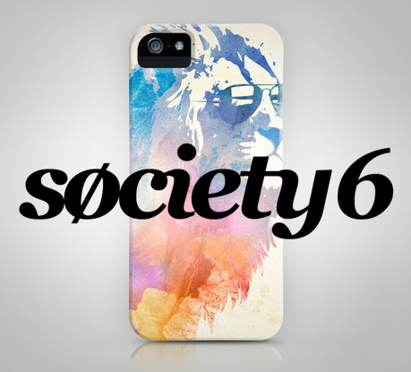 Do you know Society6? Get an Awesome iPhone Case Featuring their Artists' Work