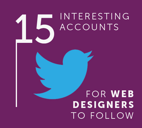15 Interesting Twitter Accounts for Web Designers to Follow