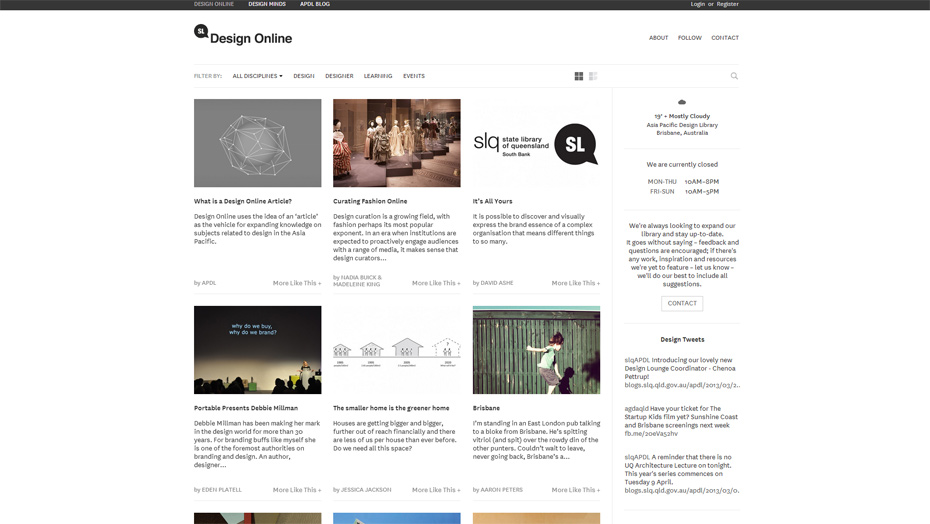 20 Web Design Examples Of Blog Front-end Structures