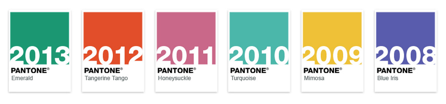 Pantone Color Of The Year think in green! selected websites in shades of emerald, inspired