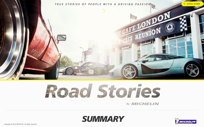 Road Stories By Michelin