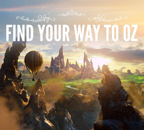 Site of the Month February 2013: Find Your Way To Oz, by Unit9