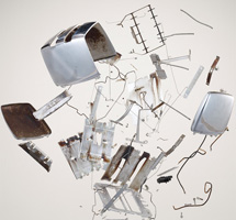 Disassembling and Organizing Objects by Todd McLellan