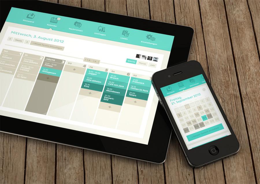 Calendar Ui Design Inspiration : Recent inspirational ui examples in mobile device screens