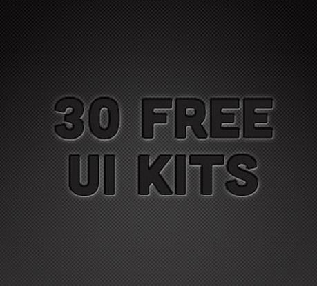 30 Free UI Kits