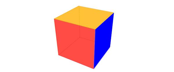 ساخت مکعب 3 بعدي با CSS3