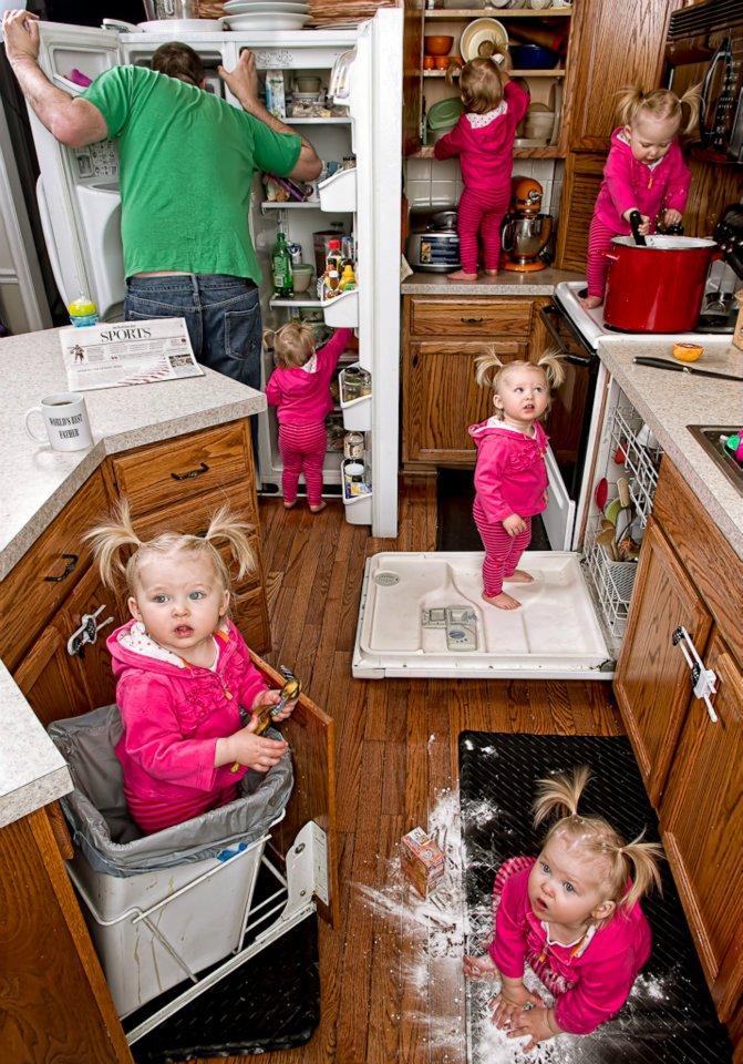 Απίθανη φωτογράφιση πατέρα με κόρη