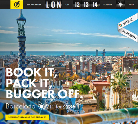 Site of the Month March 2013: Escape Flight