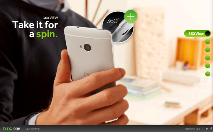 Experience the new HTC One