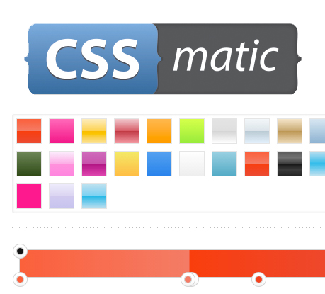 CSSmatic, the Great Visual CSS3 Tool