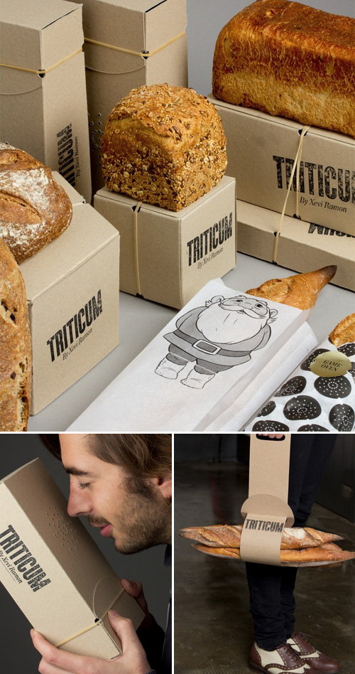 TRITICUM Bread packaging