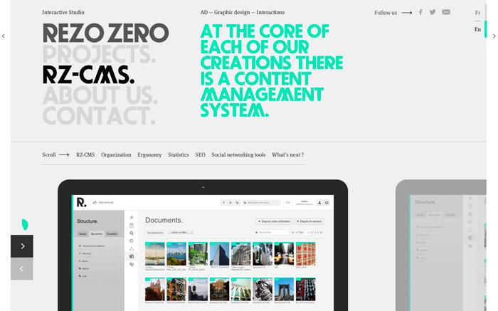 Rezo Website