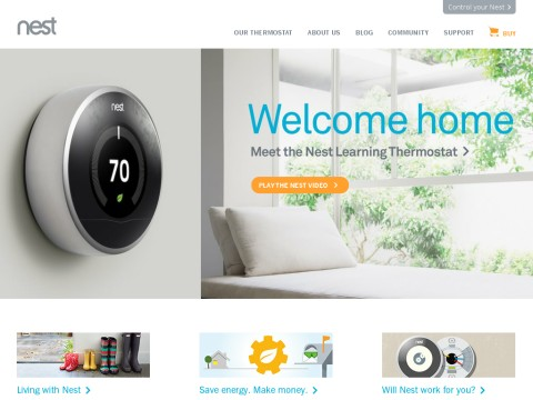 Nest | The Learning Thermostat | Home