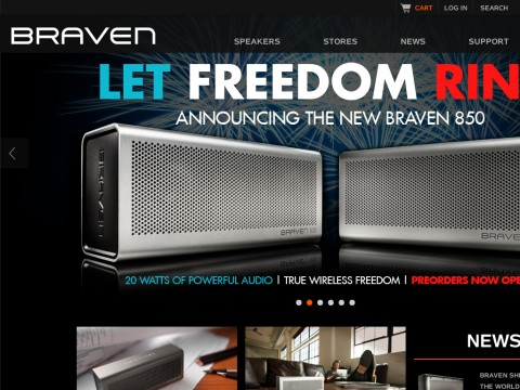 BRAVEN | Portable Wireless Bluetooth Speakers
