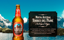 Cerveza Austral Torres del Paine launch site