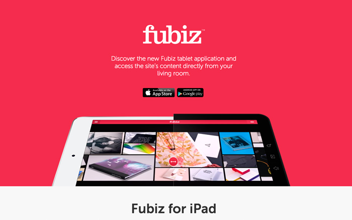 Fubiz for iPad & Android tablet