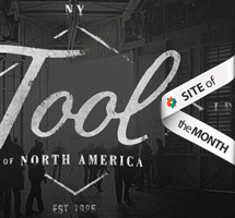 Site of the Month July 2013: Tool of North America