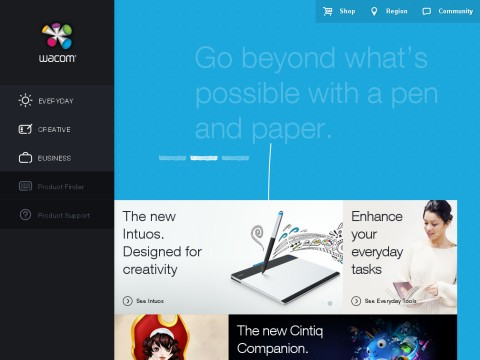 Discover Wacom | Interactive Pen Displays & Digital Drawing Tablets
