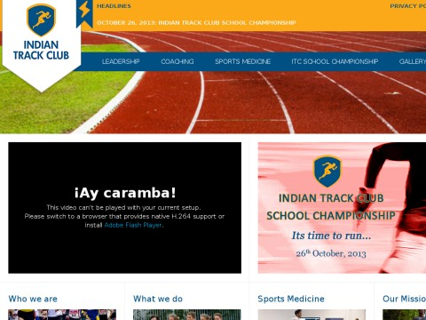 Indian Track Club Home Page