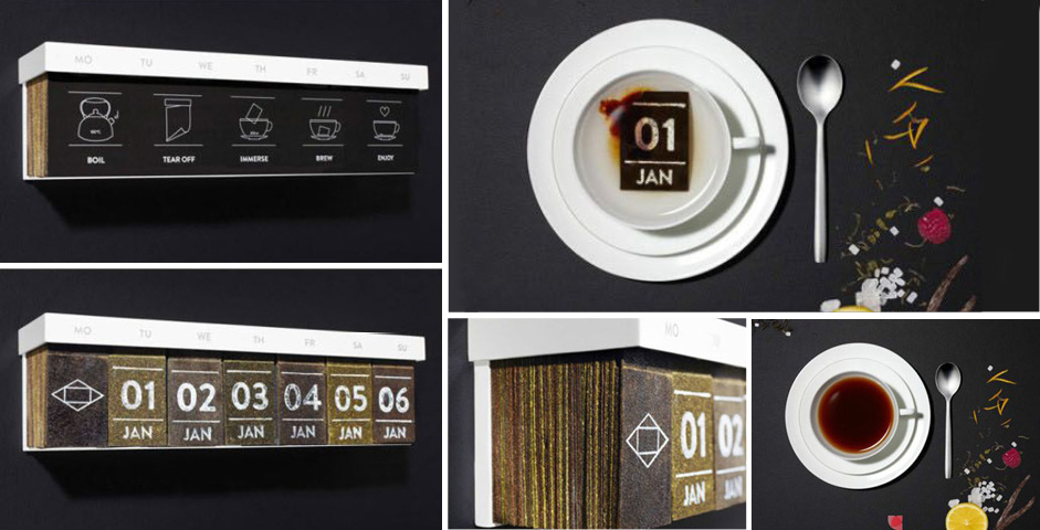 Calendar Design Awards : Creative calendar designs